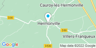 Plan Carte Azur menuiseries à Hermonville