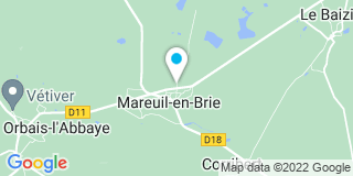 Plan Carte Legrand menuiserie à Mareuil-en-Brie