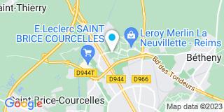 Plan Carte Iso confort à Reims