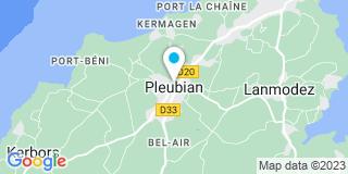 Plan Carte Bourgues Pascal à Pleubian