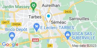 Plan Carte Menuisiers Agenceurs de Bigorre  (MAB) à Séméac