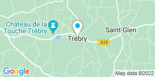 Plan Carte Astuces Menuiseries à Trébry