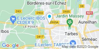 Plan Carte Guichot à Tarbes