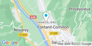 Plan Carte Bg2m à Fontanil-Cornillon