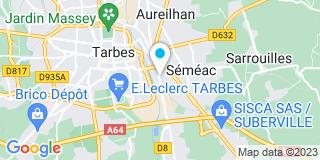 Plan Carte Gallego à Séméac