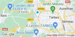 Plan Carte Duboé Jean See à Tarbes