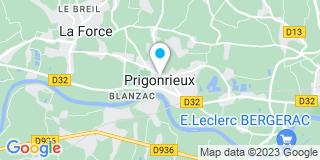 Plan Carte Etablissement Masson à Prigonrieux