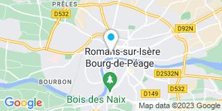 Plan Carte Hydro And Co à Romans-sur-Isère