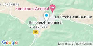 Plan Carte Moniflor à Buis-les-Baronnies