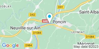 Plan Carte Elcc Liotard à Poncin