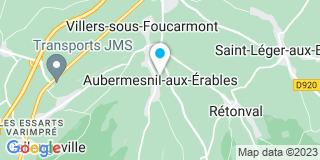 Plan Carte Denis Franck à Aubermesnil-aux-Erables