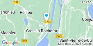 Plan Carte Perceval Christian à Cressin Rochefort