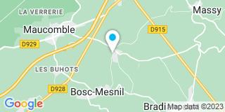 Plan Carte DT Fermetures à Bosc-Mesnil