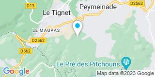 Plan Carte SSB à Montagnat