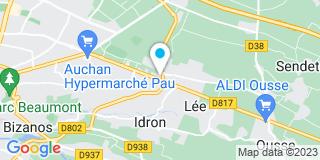 Plan Carte Leroy Merlin à Pau