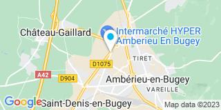 Plan Carte Archirel à Ambérieu en Bugey