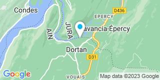 Plan Carte JCP Reybard à Dortan