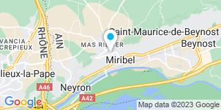 Plan Carte Guigno Pierre à Miribel