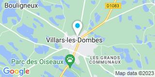 Plan Carte Charrion et Fils à Villars Les Dombes