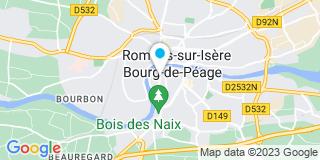 Plan Carte VillaVerde Maribri Franchisé indépendant à Bourg-de-Péage