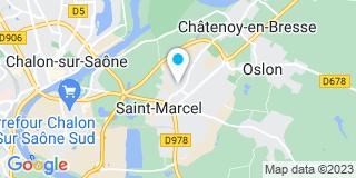 Plan Carte Gamm Vert à Saint-Marcel