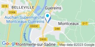 Plan Carte Fiorio Bernard à Montceaux
