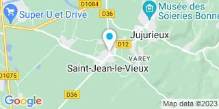 Plan Carte Evuort Maurice à Saint Jean Le Vieux