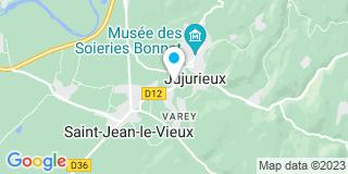 Plan Carte Entreprise Malod Faillet Grosgurin à Jujurieux