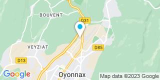Plan Carte Rhône Alpes Rénovation à Arbent