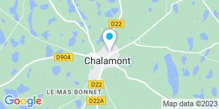 Plan Carte Siffre à Chalamont