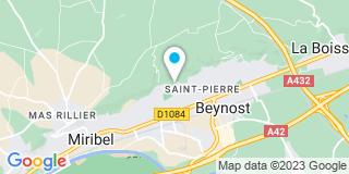 Plan Carte Au Einc à Saint Maurice De Beynost