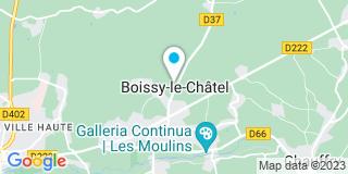 Plan Carte Jac Coulommiers à Boissy-le-Châtel