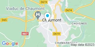Plan Carte Belalliance à Chaumont