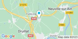 Plan Carte Guillard Alain à Pont D'Ain