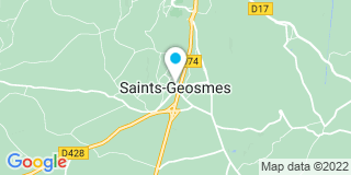 Plan Carte Art fermetures 52 à Saints-Géosmes