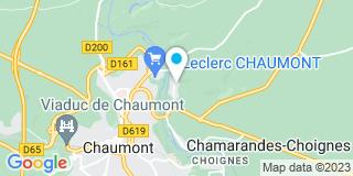 Plan Carte Atelier du Faubourg à Chaumont