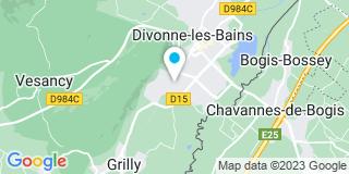 Plan Carte Jordan Jean-François à Divonne Les Bains