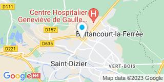 Plan Carte Lh Fermetures 52 à Saint-Dizier