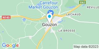 Plan Carte Menuiserie Fauconnet à Gouzon