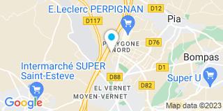 Plan Carte JMC Sud à Perpignan