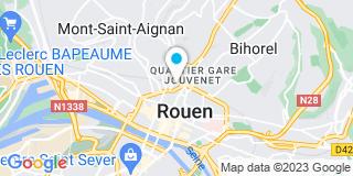 Plan Carte CBR Bâtiment à Rouen