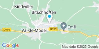 Plan Carte Bertrand à Uberach