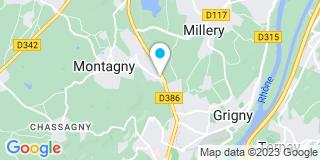 Plan Carte Miachon Paysagiste à Montagny