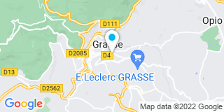 Plan Carte Menuiserie du Canal à Grasse