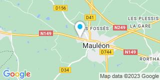 Plan Carte Espace Terrena à Mauléon