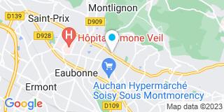 Plan Carte Pépinières Prévet à Andilly