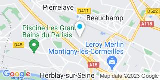 Plan Carte Fleurdepot à Pierrelaye
