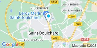 Plan Carte Villaverde à Saint-Doulchard