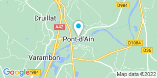 Plan Carte Charpente Chavanel à Pont-d'Ain
