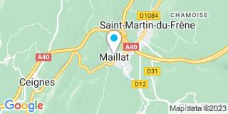 Plan Carte Cibma à Maillat